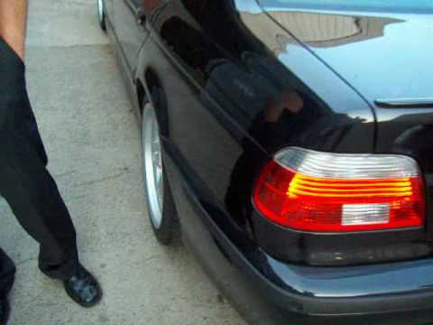 Bmw 525d E39. mw 525D M e39 black.