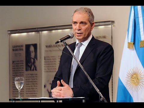 24 de OCT. El Gafi reconoció a Argentina por la lucha contra el lavado de activos. Julio Alak.