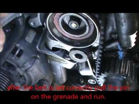 Timing belt Lexus IS300, and water pump removal and installation