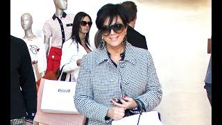 Kris Jenner Prepares For The Holidays By Shopping Louis Vuitton [2011]