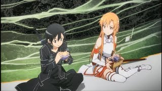 """Sword Art Online - """"Asuna Lunch!!!"""" Asuna Moment eps 9 [Sub Indo]"""