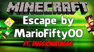 Multigranie z Es'em - MINECRAFT - EScape z Dussią [1/2]