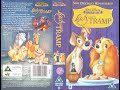 Lady and the Tramp (1998, UK VHS)