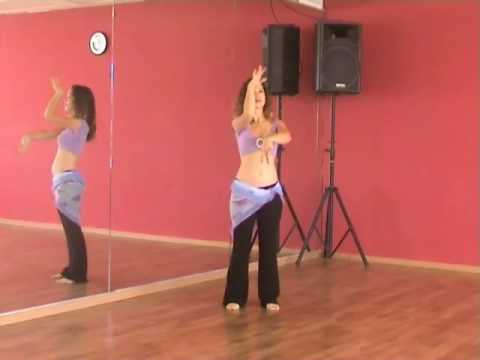 Belly Dance Lesson #1 - BellyDanceBoulevard.com dancing lessons