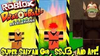 SUPER SAIYAN GOD, SSJ3, APE, AND RANKED BATTLES! | Roblox: Dragon Ball Online Revelations UPDATE