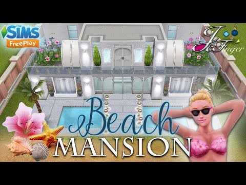 The Sims FreePlay 🐚🌴| BEACH MANSION |🌴🐚 By Joy.