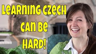 Why learning Czech can be hard