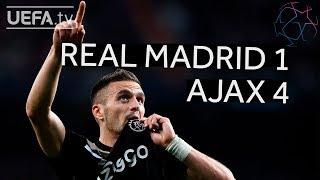 REAL MADRID 1-4 AJAX UCL HIGHLIGHTS