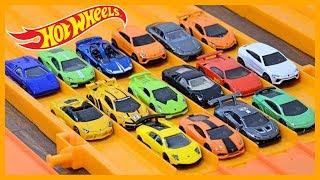 16 x Lamborghini Hot Wheels Super Elimination Tournament #HotWheelsLamborghini