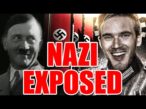 Is PewDiePie a Racist NAZI? or Just FAKE NEWS?