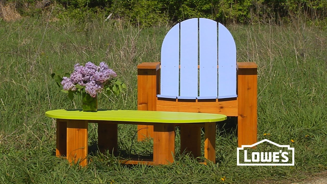 how to build an adirondack lounge chair