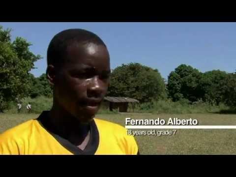International Inspiration in Mozambique - children develop through sport