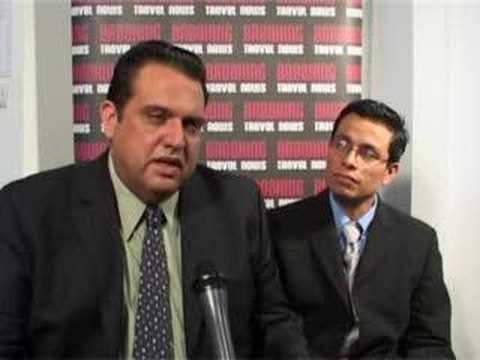 Juan Jose Martin Pacheco, Ministry of Tourism, Yucatan @ WTM 2007