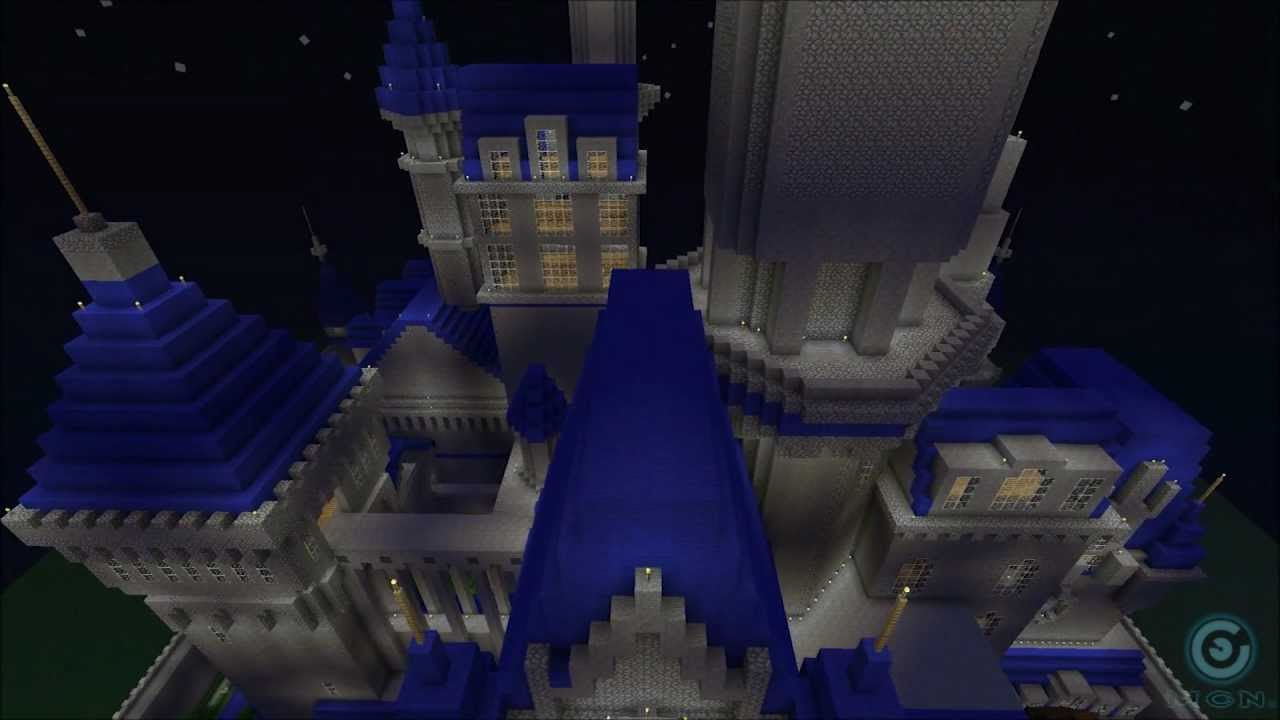 Minecraft Disney Castle Tutorial Minecraft Disney Castle