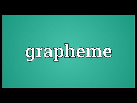 Header of grapheme
