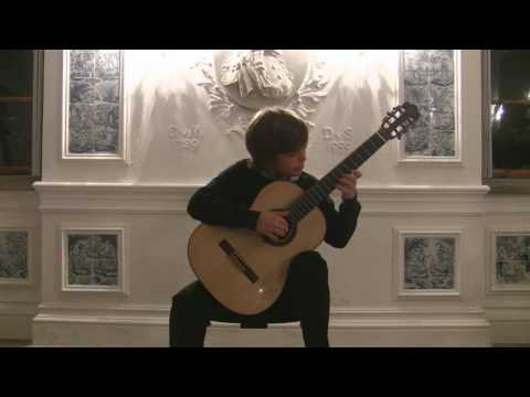Felix Spindler (13) plays Cancion y Danza by A. Ruiz-Pipo