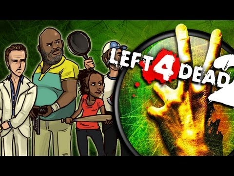 We Play: Left 4 Dead 2 - Swamp Fever: The Only Cure is Dying - Part 2 Music Videos