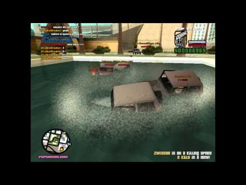 Gta San Andreas Multiplayer: Protect The President epic car park image