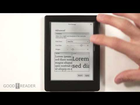 Kobo Touch 2.0 e-Reader Review