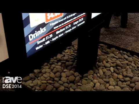 DSE 2014: Peerless-AV Showcases Its Fully-Enclosed Triple Menuboard Solution for Outdoor Kiosks