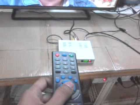 Mpeg 2 Satellite Set Top Box Installation Video For Free To Air Channels On Freedish Dth India