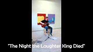 "Adicus Ryan Garton - ""The Night the Laughter King Died"" (Live @ Valsa 2014)"