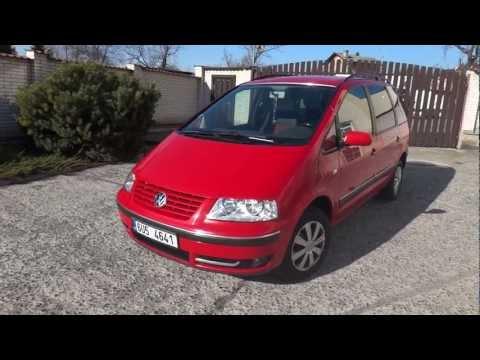 VW SHARAN 1,9 TDI,rok 2001
