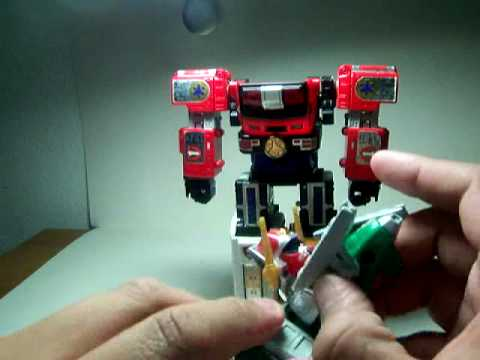 Power Rangers Lightspeed Rescue - Lightspeed Rescue Zord Review (individual Zords)