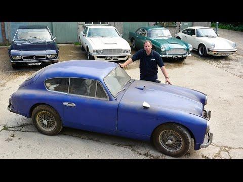 Barn Find: Rare 1955 Aston Martin Found In Storage After 50 Years
