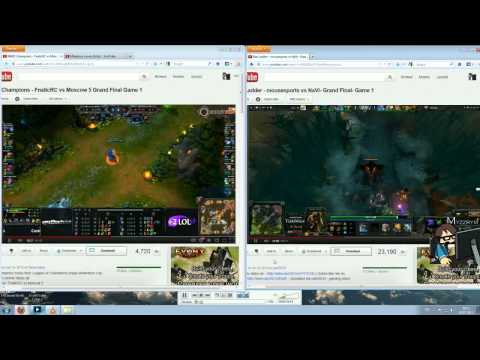From LoL to DotA 2 - 8. Competitive Gaming