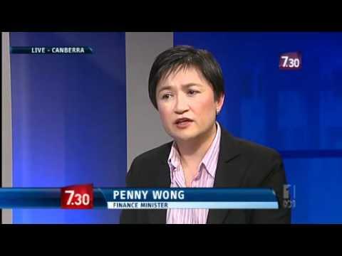 Chris Uhlmann interviews Finance Minister Penny Wong