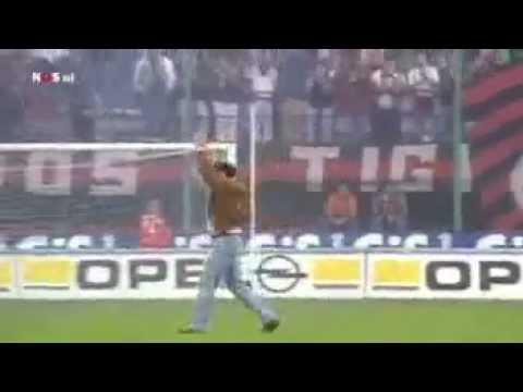 Afscheid Marco van Basten bij Ac Milan