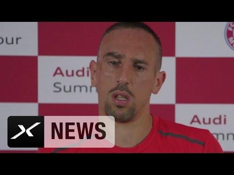Franck Ribery: Carlo Ancelotti ist komplett anders als Guardiola | FC Bayern München