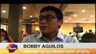 Tacloban mayor Romualdez brings message of hope to U.S. Taclobanons