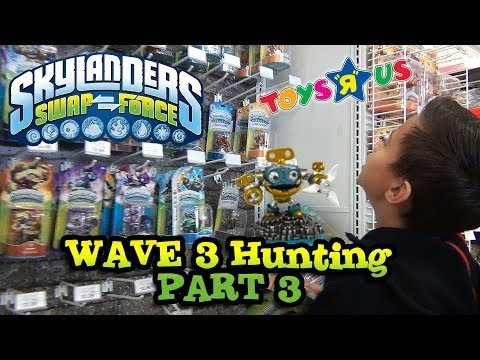Skylander Hunting WAVE 3 FINALE! Sheep Wreck Island. Arkeyan Crossbow at Toys