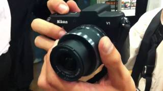 Nikon V1 hands on