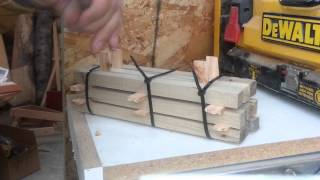 How To Billet and Dry Small Pieces of Salvaged Wood for Pen Making