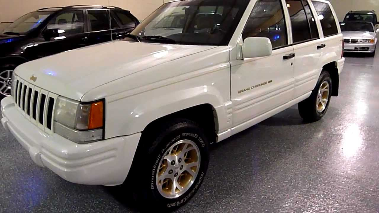 White Jeep Grand Cherokee >> 1997 Jeep Grand Cherokee 4dr Limited 4WD (#2059) (SOLD) - YouTube