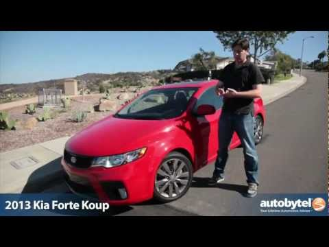 2013 Kia Forte Koup SX Test Drive & Car Video Review