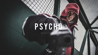 """Psycho"" - Dark Angry Rap Beat   Free New Hard Hip Hop Instrumental Music 2017   Rae #Instrumentals"
