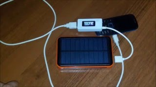 Вся правда о китайском Power Bank Solar Charger 50000 mAh / The truth about China