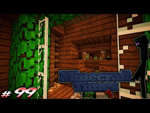 Minecraft Times #99 - Automatic Rail Track Entrance