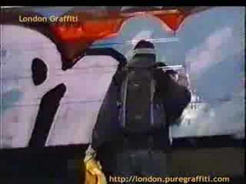 London graffiti Video