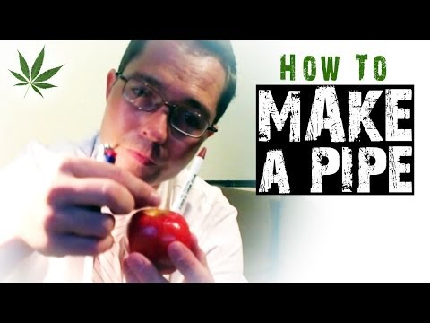 How to Make Homemade Improvised Pipes Marijuana Tricks & Tips w/ Bogart #6