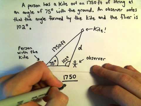 law of sines word problems pdf