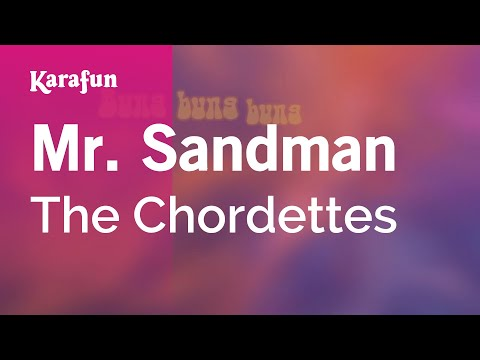 Karaoke Mr. Sandman - The Chordettes *