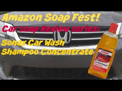 Amazon Soap Fest Review of Sonax Car Wash Shampoo Concentrate