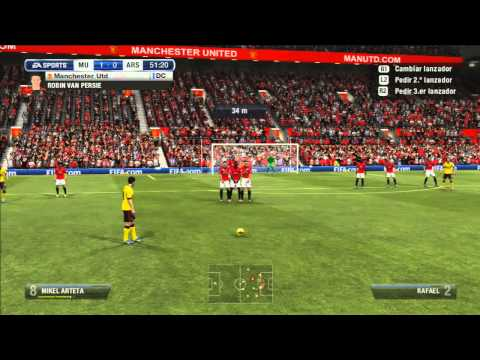 Manchester United vs Arsenal Premier League HD 2012
