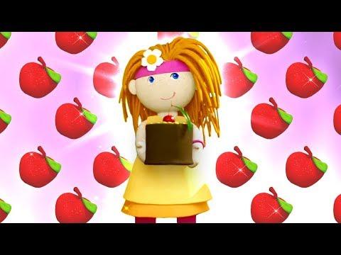 Кукольный домик - Бьянка готовит яблочный пирог - Для малышей.