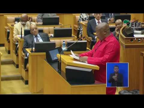 CIC Julius Malema responds to The President's State of the Nation Address